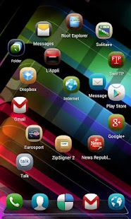 Next Launcher Theme Meego - screenshot thumbnail
