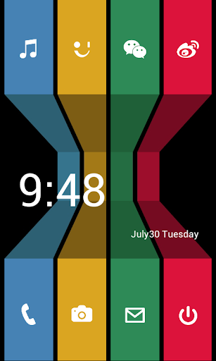WP8桌面主题:Color 3