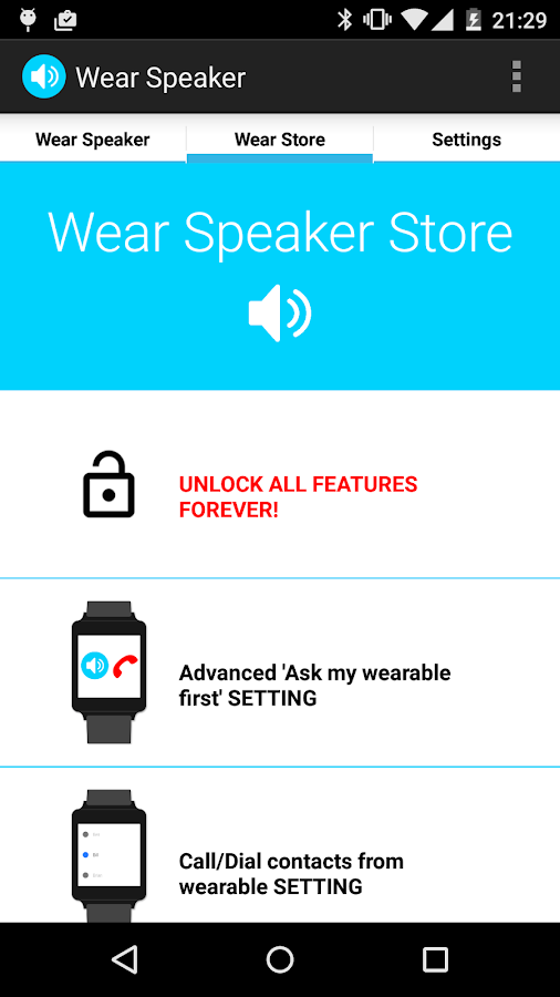 Wear Speaker- screenshot