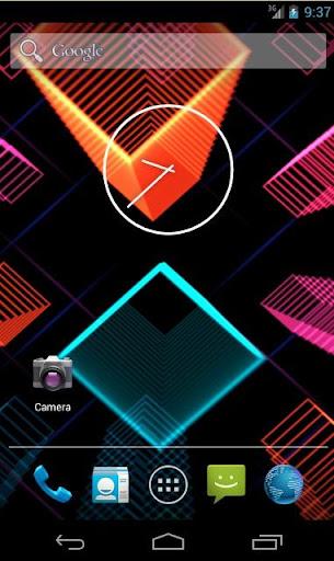 Neon Parallax Live Wallpaper