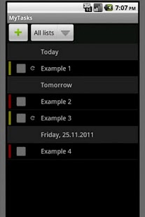 myTasks - manage your to-do's