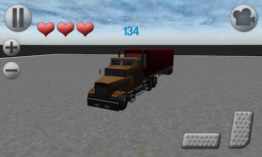 3D Truck Parking - screenshot thumbnail
