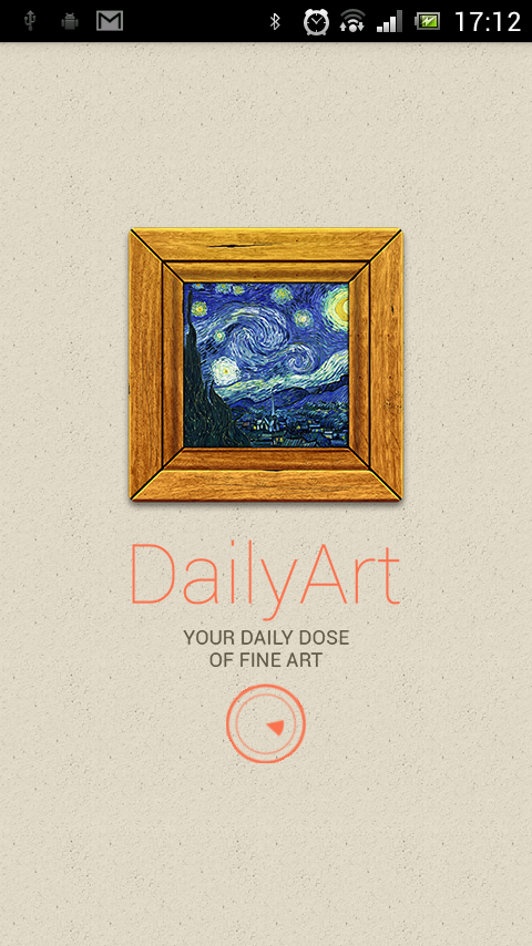 DailyArt - Daily Dose of Art - screenshot