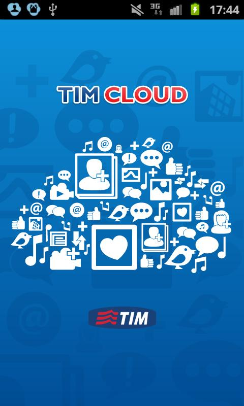 TIM Cloud - screenshot