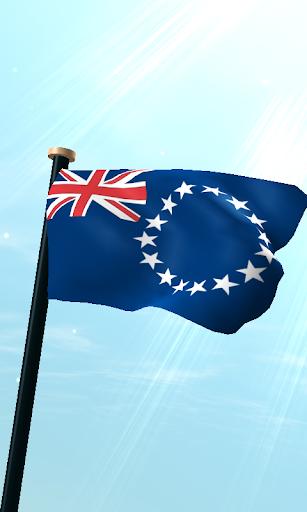 庫克群島旗3D動態桌布