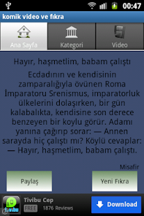 Komik Video ve Fıkra - screenshot thumbnail