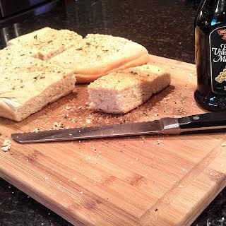 Foccacia Bread.