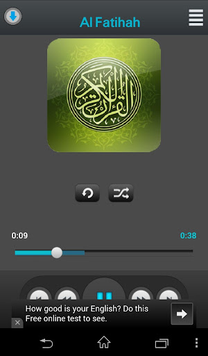 玩音樂App|Holy Quran Adel Kalbani免費|APP試玩