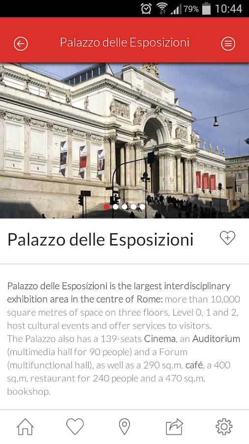 Palazzo delle Esposizioni - screenshot