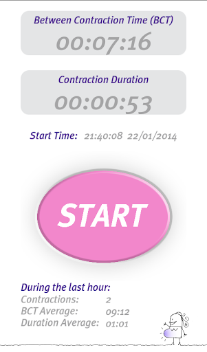 Professional Contraction Timer