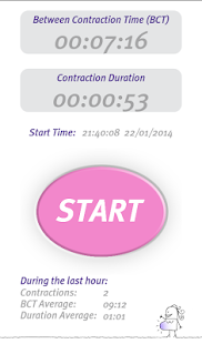 Professional Contraction Timer- screenshot thumbnail