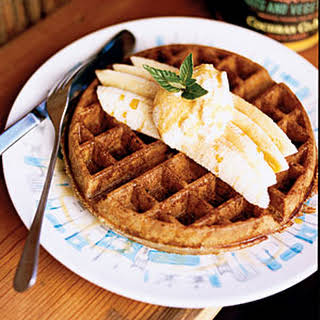 Buckwheat Belgian Waffles.