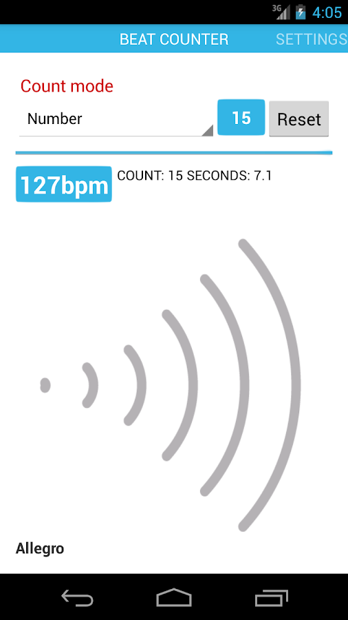 Beat Counter- screenshot