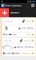 Screenshot of Direct Ridesharing