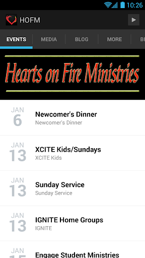 Hearts on Fire Ministries