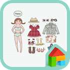 PaperDoll Dodol launcher theme icon