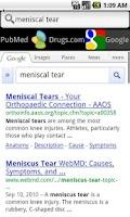 Screenshot of Underscore Medical Search