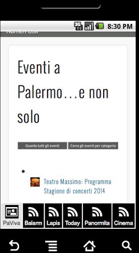 Eventi Palermo