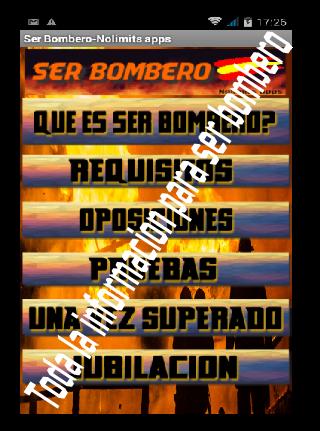 Ser Bombero España Guía