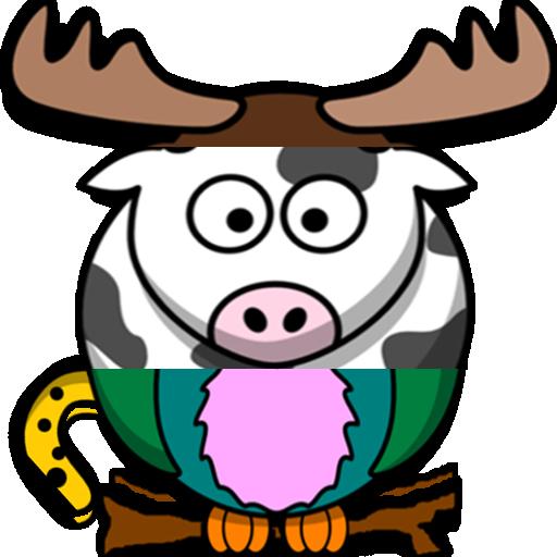 Funny Animals 3D Puzzle 解謎 App LOGO-APP開箱王