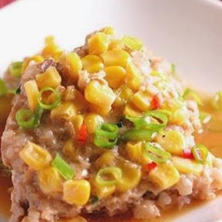 Corn Steamed Meatloaf