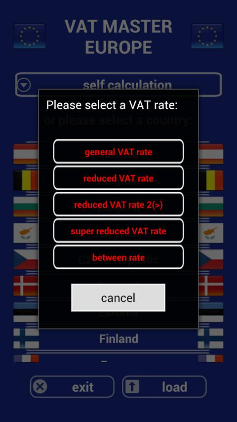 VAT Calculator Europe FREE- screenshot