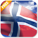 3D Norway Flag Live Wallpaper icon