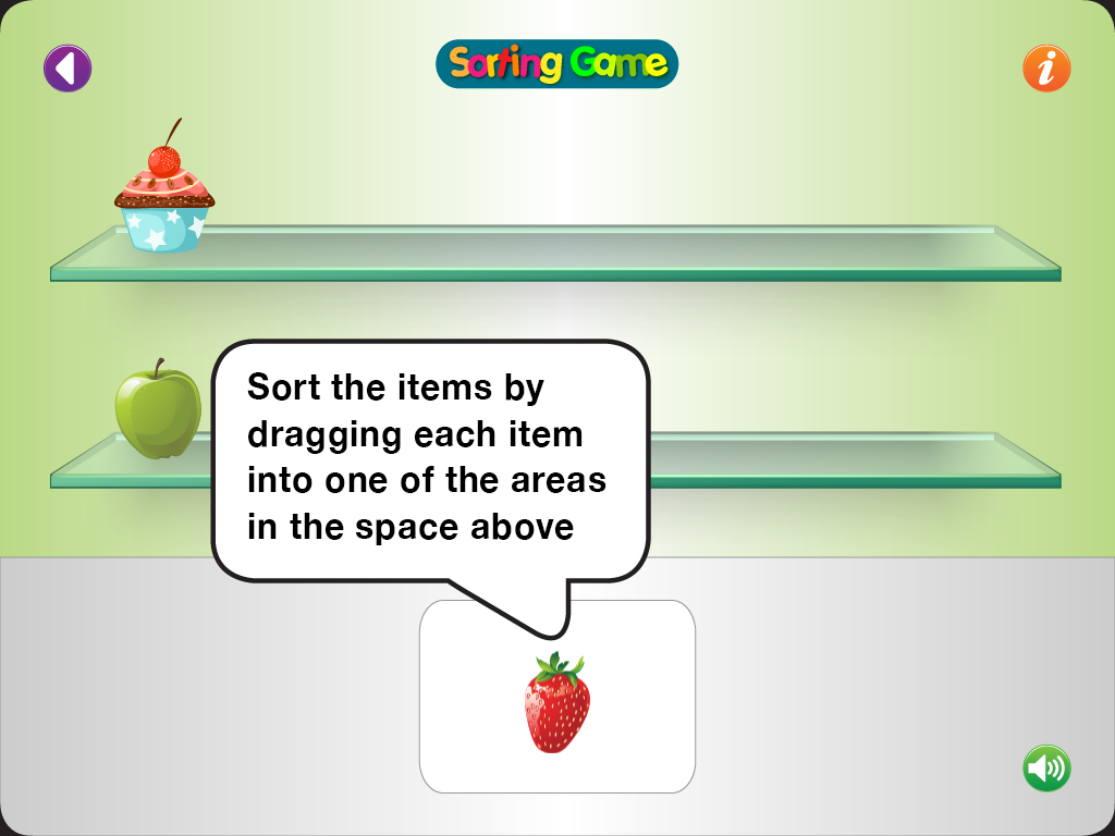 Sorting Game - for age 2+- screenshot