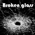 Broken glass icon