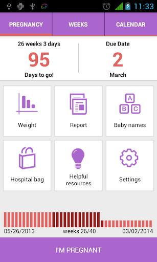 私は妊娠 妊娠アプリだ