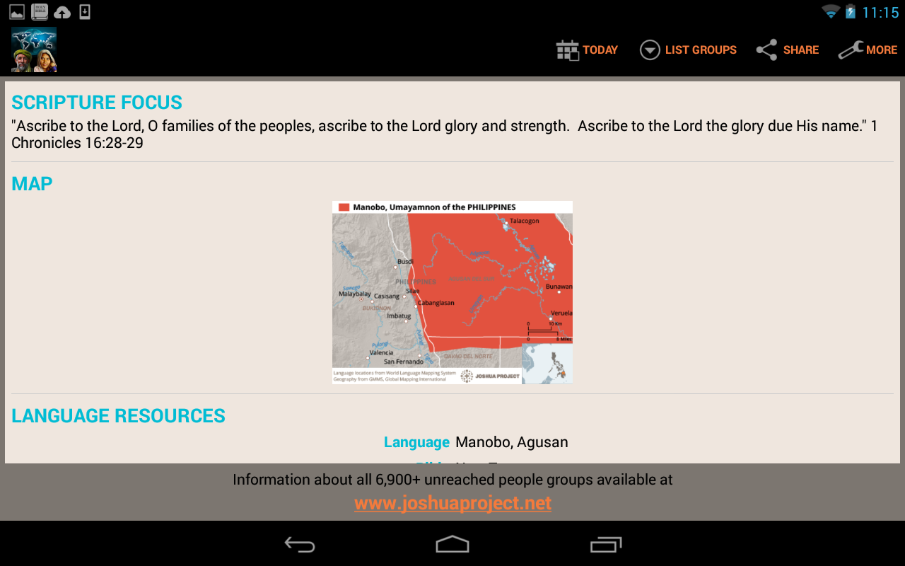 Unreached of the Day- screenshot