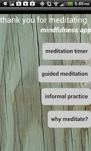 mindfulness - screenshot thumbnail