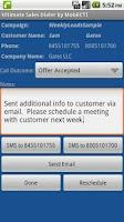 Screenshot of Ultimate Sales Dialer