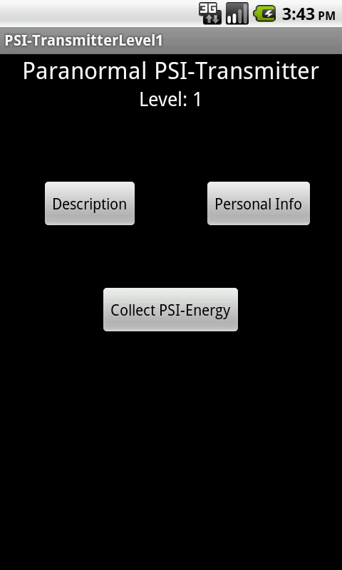 PSI Transmitter Level 1 - screenshot