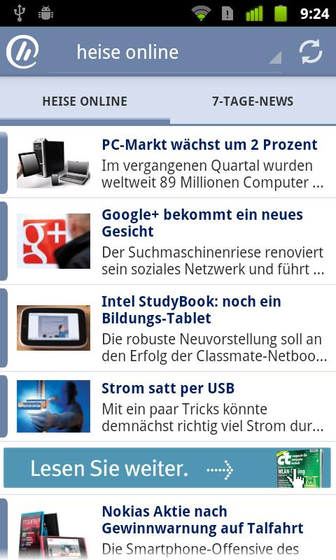 heise online - screenshot