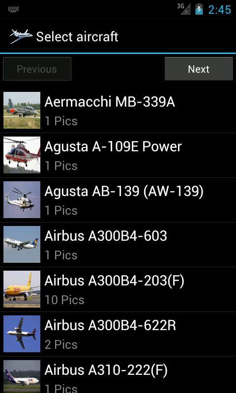 Airplane Photo- screenshot