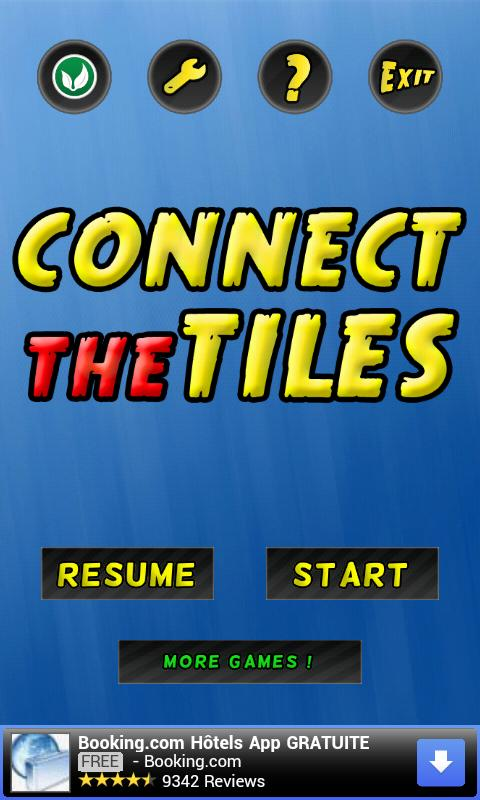 Connect The Tiles - screenshot