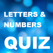Letters and Numbers (quiz)