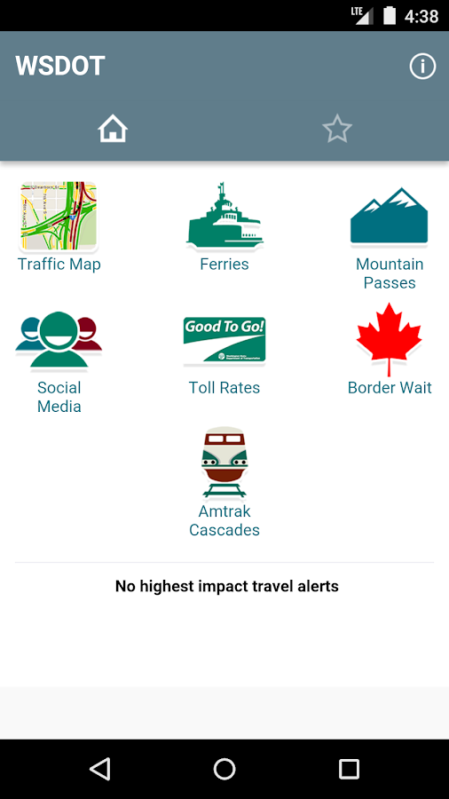 WSDOT - screenshot