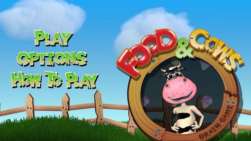 Food Cows. Brain Game