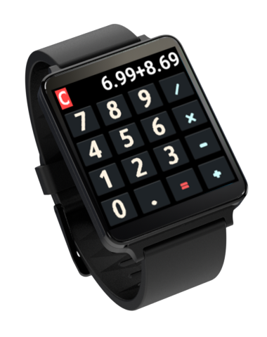 Calculator - Android Wear- screenshot