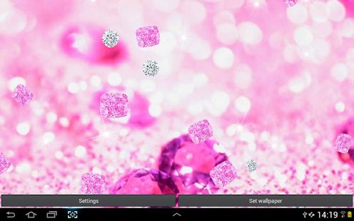 粉紅鑽石 動態桌布