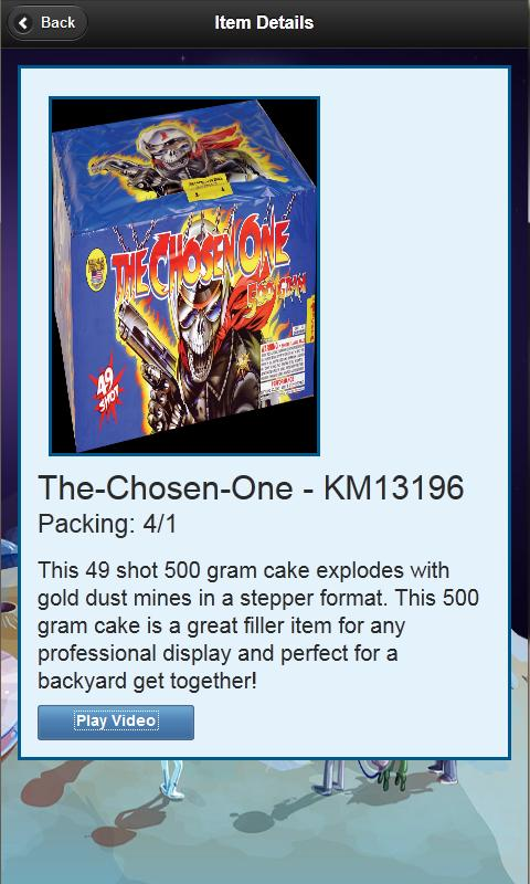 Area 51 Fireworks Catalog - screenshot