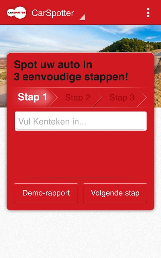 CarSpotter Full Rapport App - screenshot