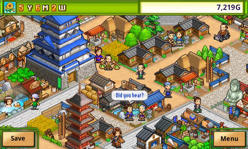 Oh!Edo Towns - screenshot