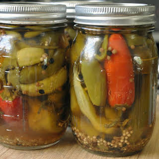 Pickled Hot Peppers.