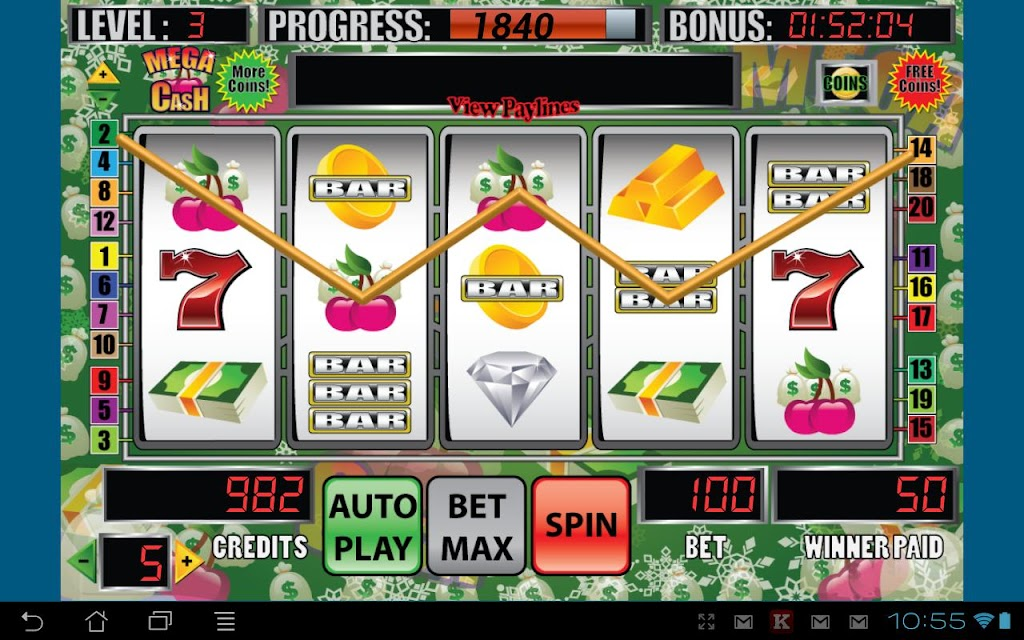 Mega Cash Slot Machine screenshots