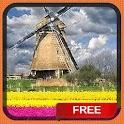 Windmill Tulip Garden LWP icon