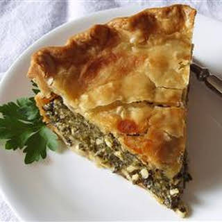 Spinach Cheese Pie Without Eggs Recipes.