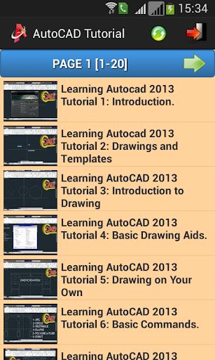 Free AutoCAD Tutorial